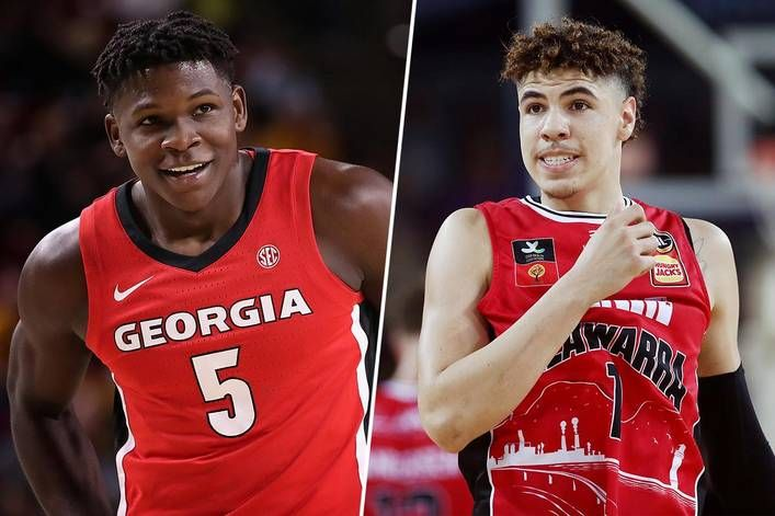 Nba Draft Who S Going To Be The No 1 Pick Anthony Edwards Or Lamelo Ball The Tylt In 2020 Lamelo Ball Nba Draft Anthony Edwards