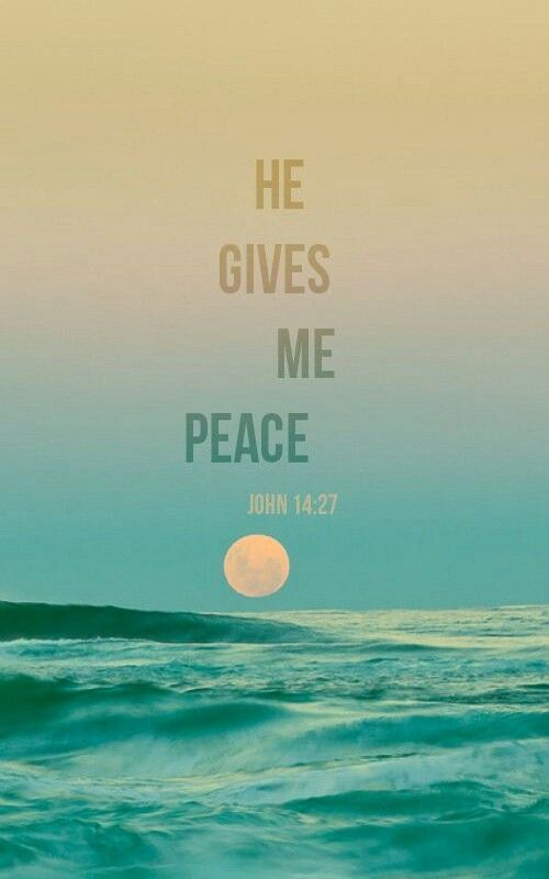 "jhn.14.27.ceb ""Peace I leave with you. My peace I give you. I give to you not as the world gives. Don't be troubled or afraid."