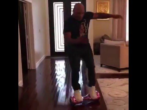 Mike Tyson Fails at Riding Hoverboard FULL VIDEO - YouTube