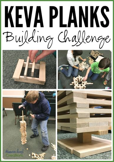 3 KEVA Building Challenges – #STEM for Kids - Homeschool Creations
