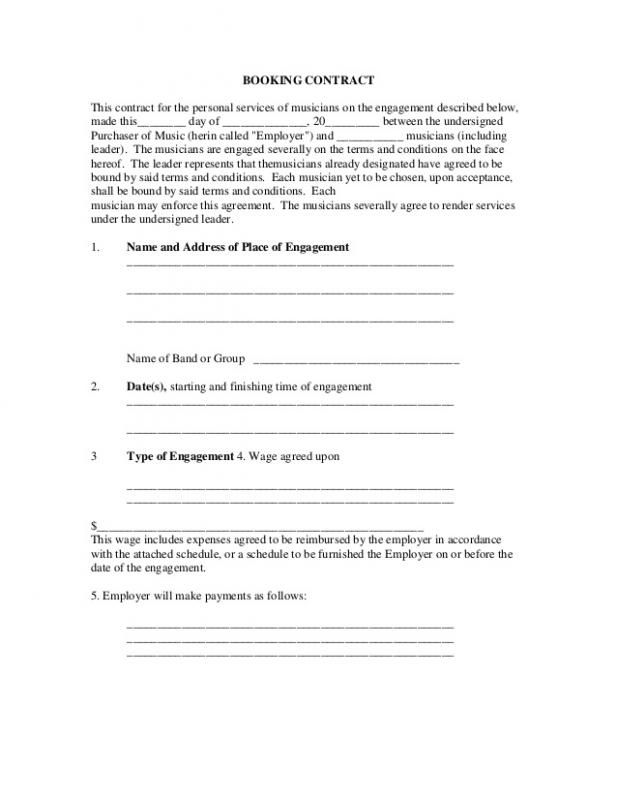 Sample Contracts For Services Contract Template Rental Agreement Templates Payroll Template