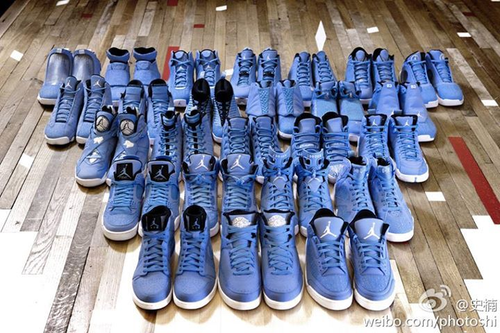 Jordan Collection - Carolina Blue: Laser Collection, Games Collection, Air Jordans, Jordans Collection, Jordans Pantone, The Games, Sneakers, Pantone 284, Pantone Collection