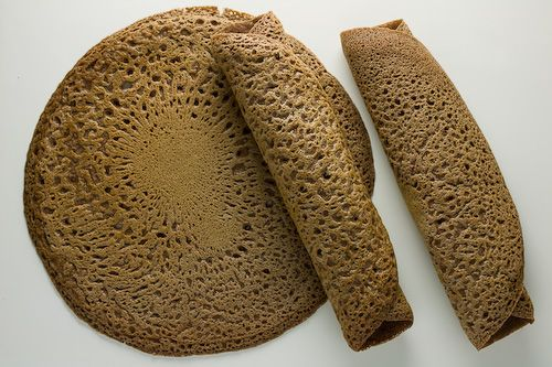 Injera – Spongy Ethiopian Flatbread — Recipes Hubs