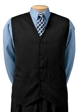 Big and Tall Suit Vest by Kings' Court