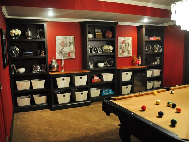 20 Best Images About Awesome Finished Basement Game Rooms