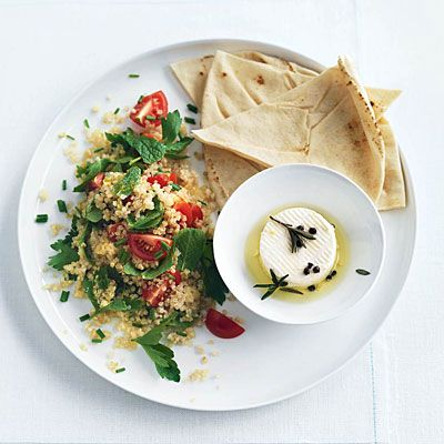 Quinoa Tabbouleh: Cooking with quinoa doesn't have to be confusing. Try these meals for a healthy dose of whole grains.
