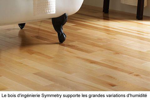 Planchers de bois franc d'ingénierie : le plancher Symmetry se distingue