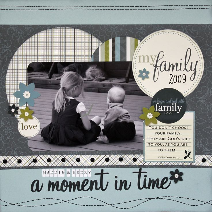 A Moment in Time: Scrapbook Ideas, Circles, Scrapbook Pages Layout, Scrapbook Boys, Scrap Books, Scrapbook For Boys, Families, Photos Layout, Scrapbook Layout Boys