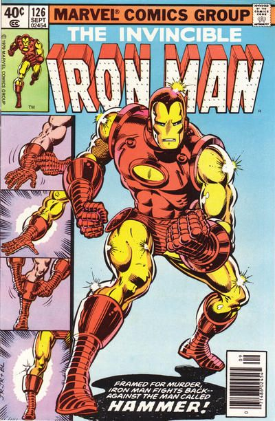 Iron Man # 126 by John Romita Jr. & Bob Layton