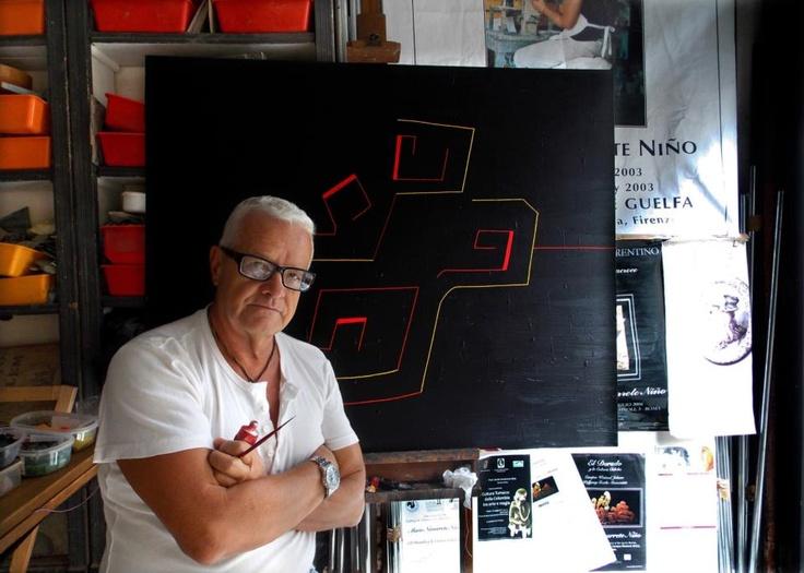 Mario Navarrete Niño  Maestro en Cerámica Artística  Llega a Italia en 1978