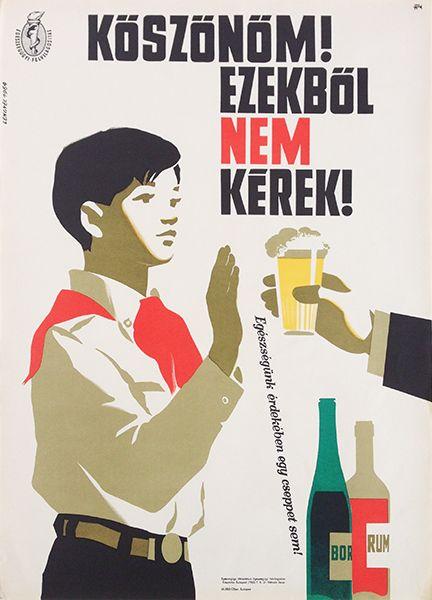 Thanks! I don't want any of these! / Köszönöm! Ezekből nem kérek! 1964 Artist: Lengyel Sándor