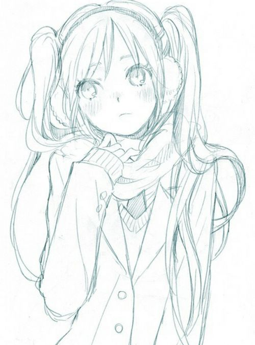 25+ best ideas about Anime sketch on Pinterest | Drawings ...
