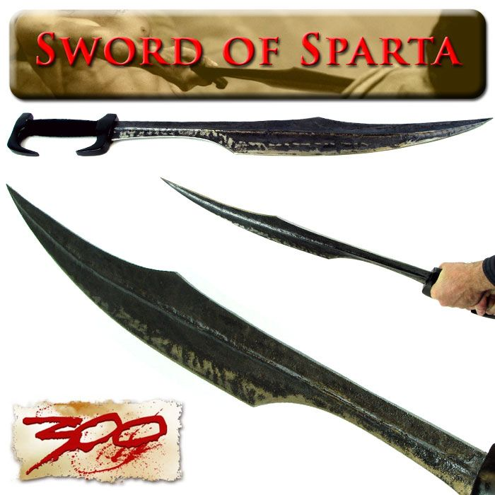 Sword of Sparta - Authentic 300 Movie Replica