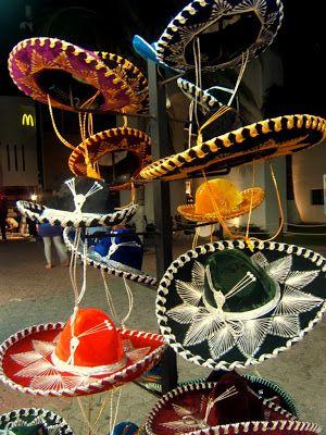 Travel & Lifestyle Diaries: Mexican hats (sombrero) in Playa del Carmen