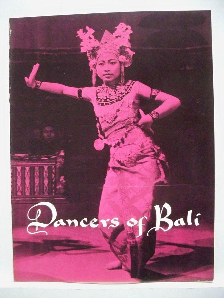 DANCERS OF BALI Souvenir Program PAUL SZILARD Tour 1957 | eBay