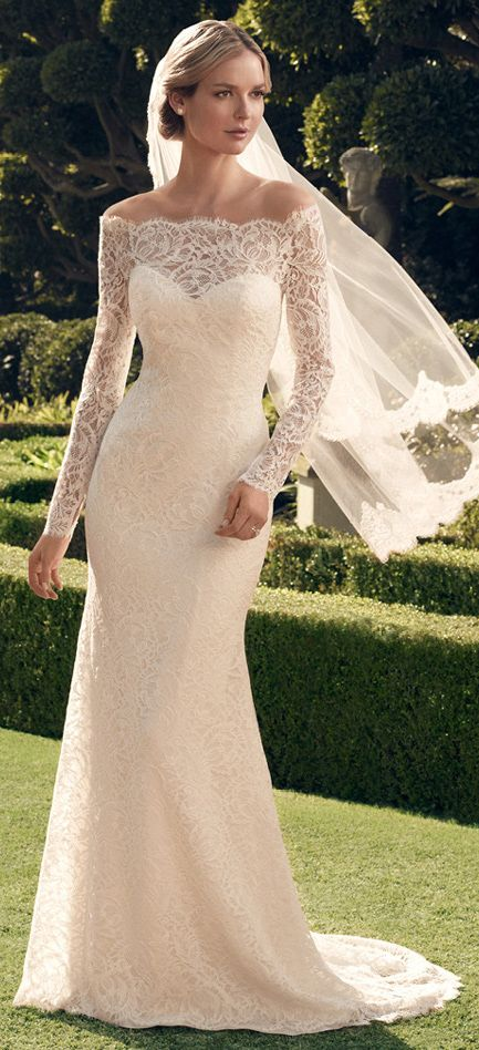 LOVE THIS!! A lace moment by Casablanca Bridal Fall 2014 | bellethemagazine.com