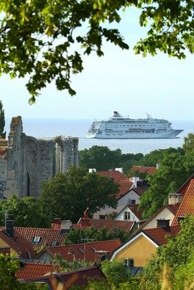 Visby, Gotland, #Sweden - Ferry from Stockholm