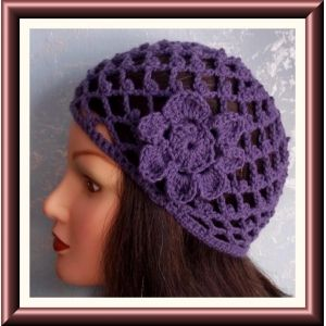 mesh skull cap crochet pattern | CROCHET ABBA HAT