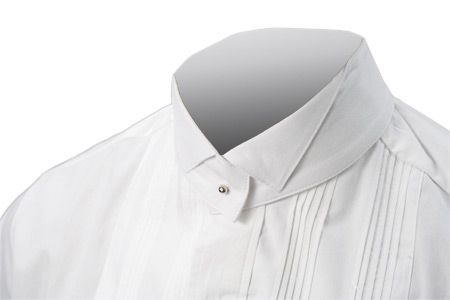 Detachable Cotton Collar - Wing Tip