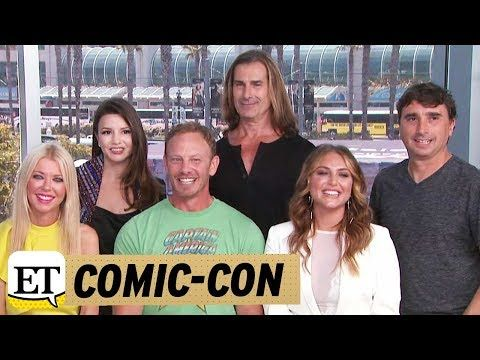Comic-Con 2017: 'Sharknado 5' Cast Talk Cameos and 'Insane' International Production -  ET caught up with the cast of the hit franchise, including Tara Reid, Ian Ziering and Fabio, at San Diego Comic-Con, where they dished on the franchise's fifth installment. | Entertainment Tonight