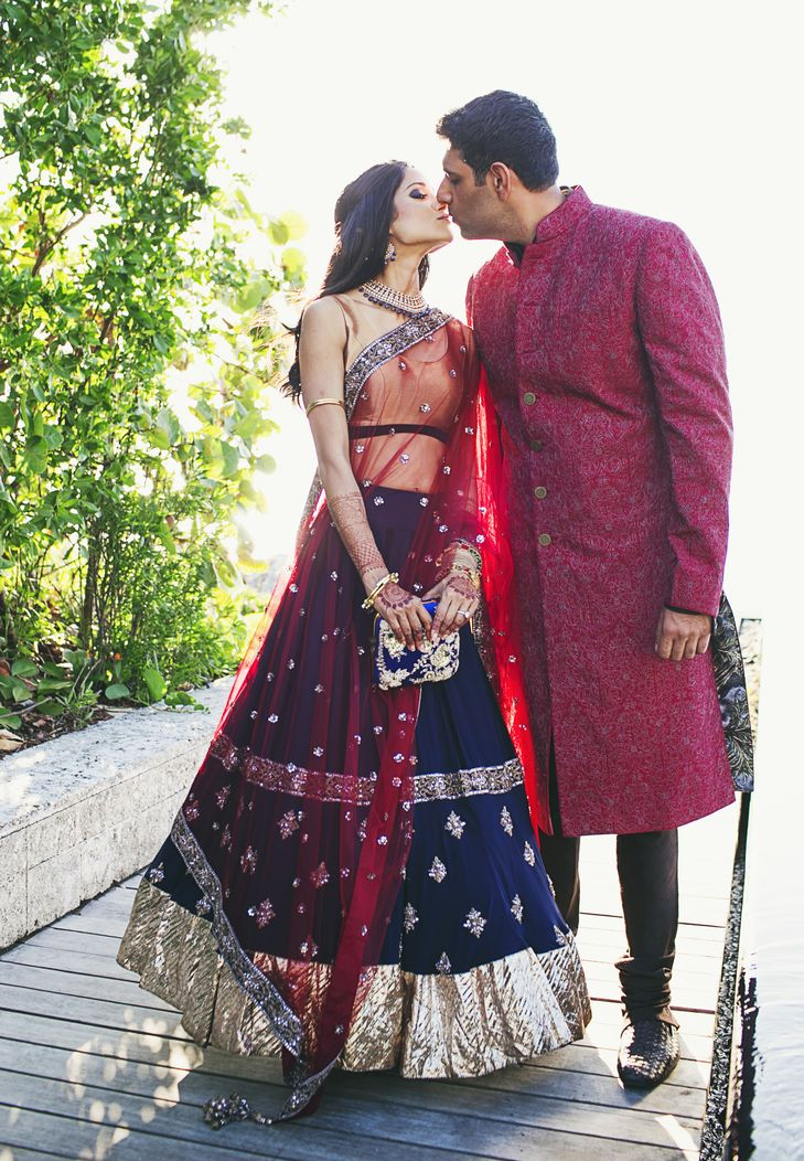 Sangeet Party Attire for the Bride and Groom | Our Labor Of Love https://www.theknot.com/marketplace/our-labor-of-love-atlanta-ga-188064
