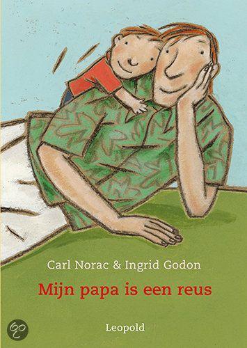 Vaderdag: boek 'Mijn papa is een reus'