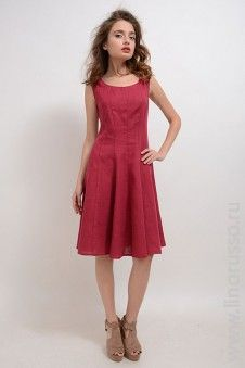 #LinoRusso #РусскийЛён #лён #платье #dress #red #linen #spring16 #summer16 #ss16