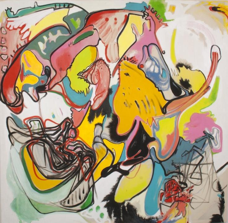 Grzegorz Siembida, no title, 2012   #art #painting #lasem #grupalasem