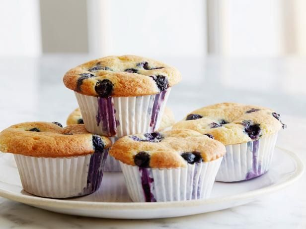 Recipe of the Day: Ina's Blueberry Coffee Cake Muffins Waking up and baking a batch of muffins from-scratch might not be in the cards, but whipping up Ina's blueberry-scattered, sour cream-spiked batter ahead and refrigerating it means you can have them fresh out of the oven come brunchtime.