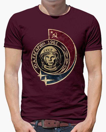 Camiseta Yuri Gagarin 1961 V02