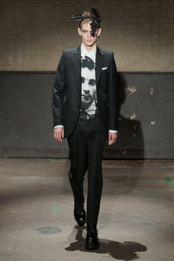 Défile Alexander McQueen, homme automne-hiver 2014-2015, Londres. #LFW #fashionweek #runway
