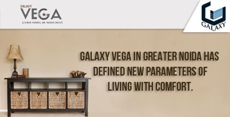 "Galaxy Vega In Greater Noida Has Defined New Parameters Of Living With Comfort    Galaxy Vega in Greater Noida, built by Galaxy Group envelopes all these facilities with 80% open space keeping the requirements of end consumers in mind. All the units that have been built to ""Cherish A Radiant Lifestyle"". Visit Here: - https://goo.gl/fnxUZa"