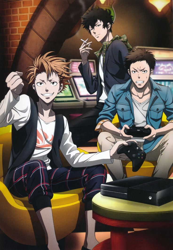 "- Picture from Psycho Pass Xbox Game ""MANDATORY..."