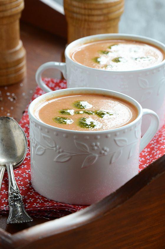 Creamy Wintertime Tomato Soup