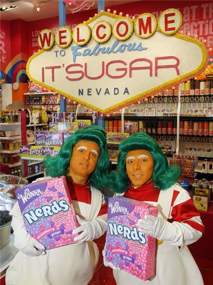 Wonka launches Las Vegas candy store called It'Sugar    Photo: Isaac Brekken/AP Images for Wonka