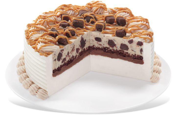Choco peanut butter brownie blizzard cake treats menu