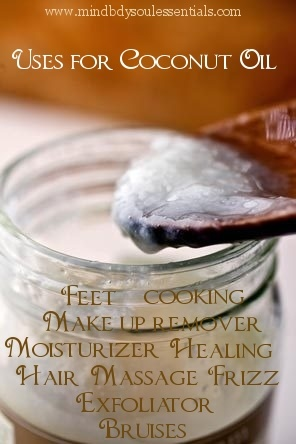 Benefits & Uses for Coconut Oil - Coconut oil can be used for just about anything on the outside and what it does to our insides is pretty amazing!