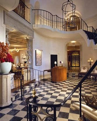 The Mansion Restaurant (five star) at the Rosewood Mansion on Turtle Creek Htl in Dallas, Texas