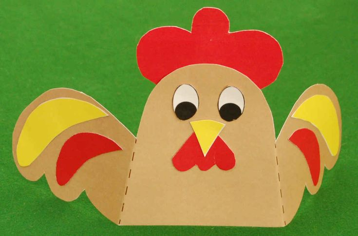 Make a Chinese New Year Rooster