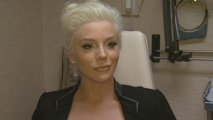 Courtney Stodden has made a few changes to her appearance since first landing on the scene in 2011, and she let ET tag along for her latest procedure.  #plasticsurgery #nosejob #Aesthetics
