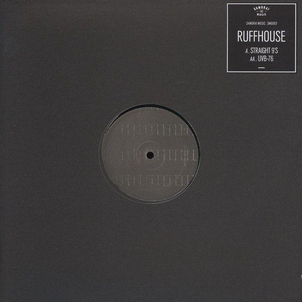 """Ruffhouse - Straight 9's / UVB-76 12"""" Gunmetal SMG003 Samurai Music"""