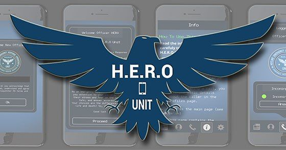 HERO Unit Android review  A rather good text simulation mobile game