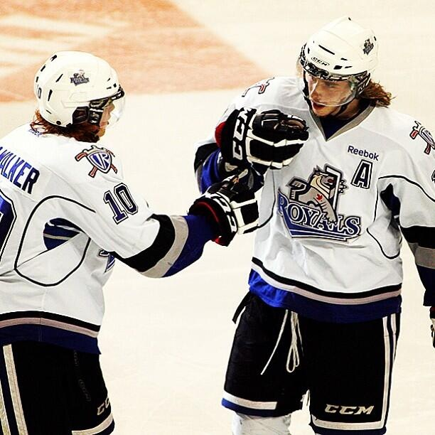 Twitter / victoriaroyals: Playoff home games are right ...Logan Nelson and Ben Walker Victoria Royals.