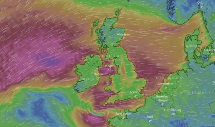 Snow storm Emma tracker: Live storm tracker – where is storm Emma now?   Weather   News