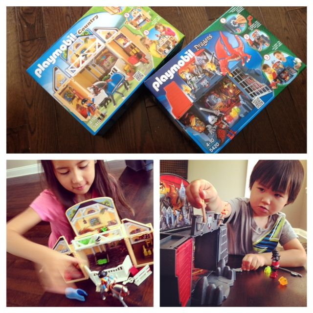 Check out this Playmobil contest from www.mybabystuff.ca