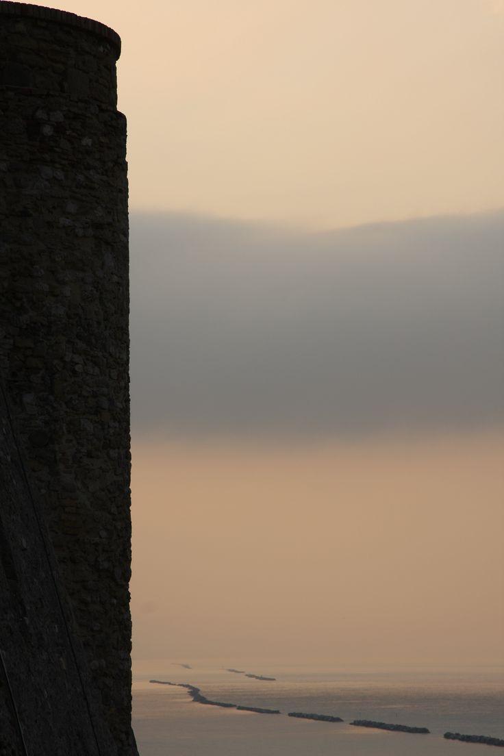 Alle spalle del castello. #termoli #molise
