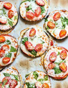 10 idées de pizza sans pâte - Les Éclaireuses