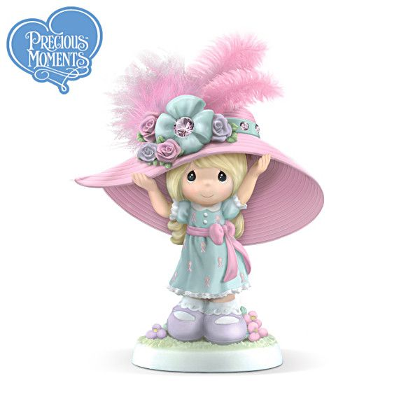 Precious Moments Hats Off To Hope Figurine
