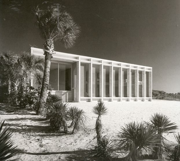 The Frederick Deering House by Paul Rudolph 1958