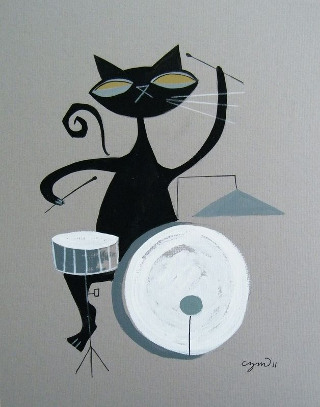 Cats - El Gato Gomez ArtTap the link to check out great cat products we have for your little feline friend!